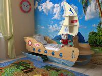 """Детская кровать """"Корабль"""""""