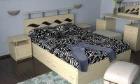 """Кровать двухспальная """"Волна-3"""""""