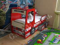 """Детская кровать """"Пожарка"""""""